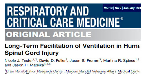 Image of a journal article by Tester N et al in the American Journal of Respiratory and Critical Care Medicine